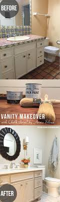 bathroom vanity makeover ideas remodelaholic chalk paint bathroom vanity makeover