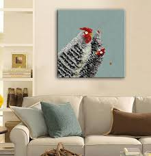 Home Decor Paintings by Online Get Cheap Chicken Oil Paintings Aliexpress Com Alibaba Group