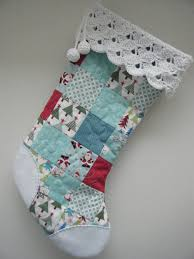 patchwork christmas stocking christmas stocking stockings and craft