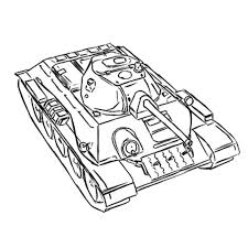 how to draw the soviet easy a 20 tank with a pencil step by step