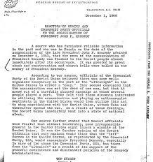 now the jfk files have been released by trump what are the top 10