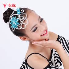 children s hair accessories adults children headdress new ballroom professional