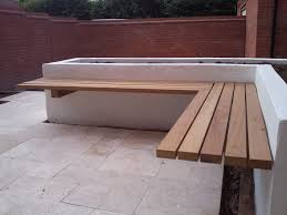 Garden Storage Bench Uk Songsen Wooden Storage Bench With Arm And Back Garden Photo With