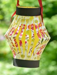 paper lantern made with child u0027s artwork holy days holidays