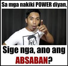 Tv Memes - cong tv memes tag mo nga yung nakiki power jan facebook