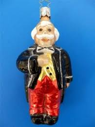 captain jax pirate christmas ornament inge glas of germany