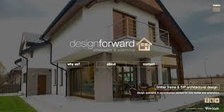 architect website design web design cardiff web