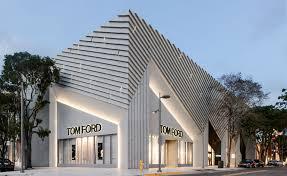 Modern Art Deco Design A New Miami Retail Hub By Aranda Lasch Taps Into The City U0027s Art