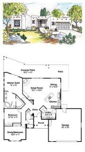 pueblo style house plans adobe house floor plans plan 008h 0021 find unique house plans