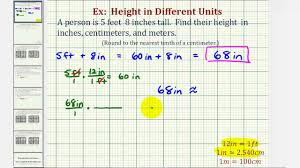 Desk Height Calculator by Ex Convert Height In Feet And Inches To Inches Centimeters And