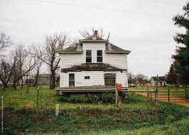 old farm house decay falls city wi historic city