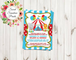 monkey birthday party invitation baby boy 1st first