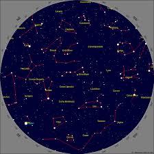 printable star constellation map calgary star chart for april