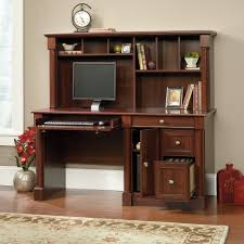 Computer Hutch Desk With Doors by Palladia Computer Desk With Hutch 420513 Sauder