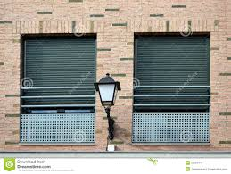 two windows and lamppost royalty free stock images image 33262419