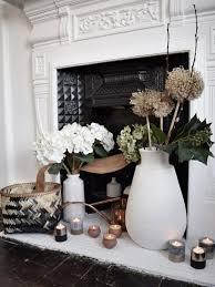 hygge interior decor winter styling candles scandinavian white