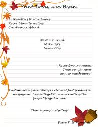 fairy writing paper autumn leaves paper autumn stationery autumn page autumn leaves this is a digital file