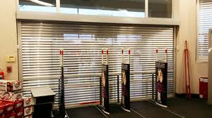 Security Overhead Door Heavy Duty Storefront Security Doors Overhead Door