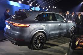 porsche suv porsche cayenne revealed details of reved suv autocar