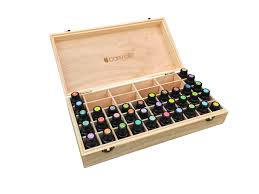 tree of wooden box essential oils guide
