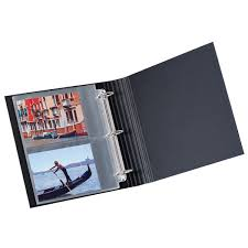 5 x 7 photo album photo card storage pages the container store