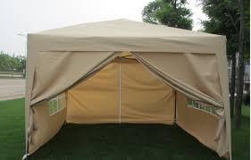Patio Tent Gazebo by Amazon Com Exacme 10 U0027x10 U0027 Pop Up Wall Wedding Canopy Party Tent