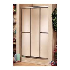 48 Shower Doors Biarritz 48 Plus Shower Door W Raindrop Glass By Maax