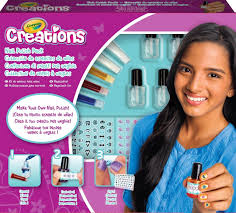 crayola creations make your own nail polish set mix create make up