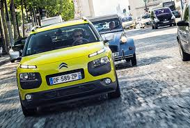citroen 2cv citroen c4 cactus meets its 2cv ancestor in paris by car magazine