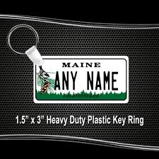 Maine Vanity License Plates Maine Replica State License Plate For Bikes Bicycles Atvs Cart