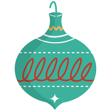 christmas bowling ornament clipart clip art library