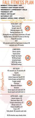 easy workout plans at home fall fitness plan you can do at home workout fitness routines