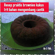 cara membuat brownies kukus simple cara membuat brownies kukus coklat mudah dan hemat bahan youtube