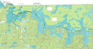 Bwca Map Boundary Waters October 2004