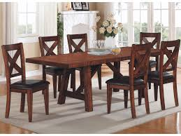 kingston dining room table winners only kingston 7 piece table chair set sheely s furniture
