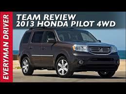 2013 honda pilot consumer reviews team review 2013 honda pilot 4wd on everyman driver