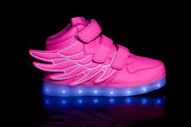 light up shoes kids led light up shoes wings pink buy now