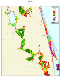 More Sea Level Rise Maps Treading Water Map Florida In 2100 National Geographic Magazine
