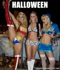 Sluts Memes - halloween halloween sluts meme generator