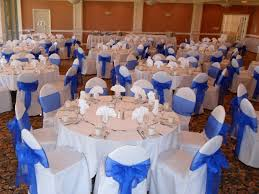royal blue chair covers chair cover rentals in los angeles and orange county ca