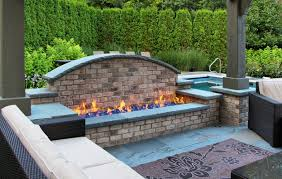 Fire Glass Pits by 21 Outdoor Fire Pit Designs Ideas Design Trends Premium Psd