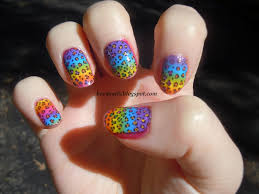 bevy u0027s nails crazy lisa frank nails