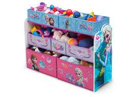 Disney Toy Organizer Frozen Deluxe Multi Bin Toy Organizer Delta Children U0027s Products