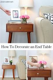 end table decorating ideas how to style an end table like a pro real estate decorating and room