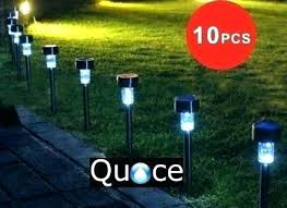 top rated solar powered landscape lights landscape lighting solar functional basic solar landscape lighting
