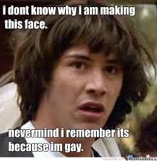 Im Gay Meme - im gay imbabadeebabada by nathan janes 315 meme center