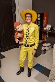 Curious George Costume Man With The Yellow Hat Costume Child Google Search Halloween