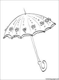 wedding umbrella coloring coloring pages