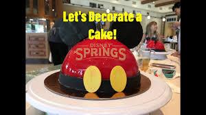 let u0027s decorate a cake amorette u0027s at disney springs youtube