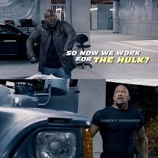 Dwayne Johnson Car Meme - tyrese and dwayne fast and furious pinterest movie rip paul